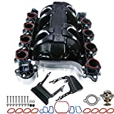 Intake Manifold Kit with Gasket for Lincoln Town Car Ford Mustang Crown Victoria Thunderbird Mercury Cougar(V8 4.6L Only)