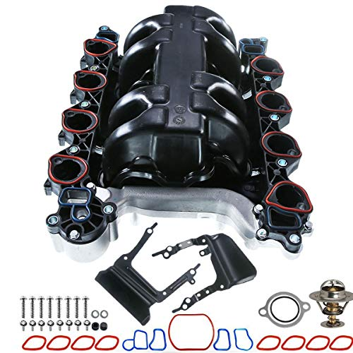 Intake Manifold Kit with Gasket for Ford Mustang Crown Victoria Thunderbird Lincoln Town Car Mercury Cougar(V8 4.6L Only)