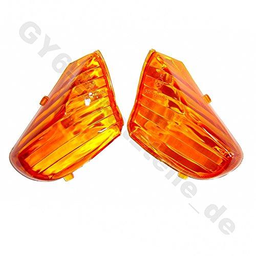 feu arrière lampe clignotant > Set de verres * Orange pour 4 temps de la Chine Roller * par exemple pour Rex Baotian Benzhou yiying jinlun Jack Fox Flex Tech Saro ZNEN jmstar etc.