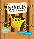 Nibbles The Book Monster by Emma Yarlett as part of our 1000 books for the summer goal.