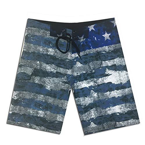 QWEASDZX Pantalones Cortos para Hombres Pantalones Cortos Deportivos para Correr Pantalones Cortos con Cintura Elástica Bolsillos Cortos De Secado Rápido Al Aire Libre 30