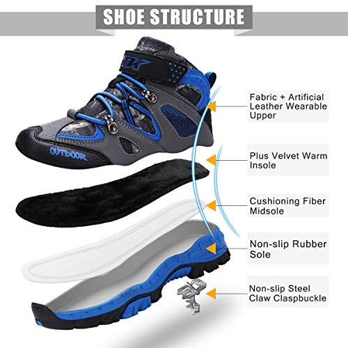 Wetike Kids Boots Hiking Shoe