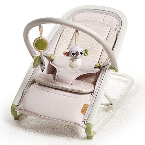 Tiny Love Boho Chic Balancín 2-en-1, balancín ligero con dos modos: balanceo y asiento fijo, apto desde el nacimiento, 0-9 kg
