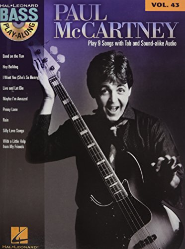 Bass Play-Along Vol.43 Paul McCartney + CD