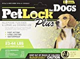 Petlock Plus Flea & Tick for Dogs - Medium Dog - 3 ct