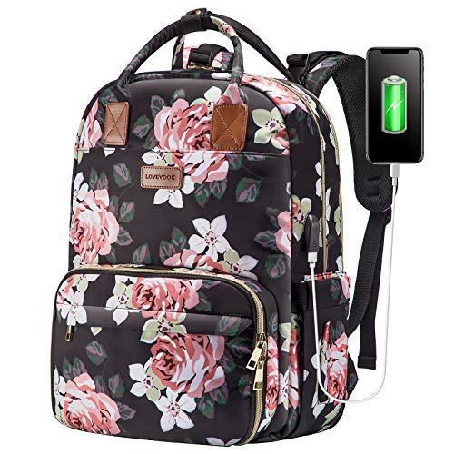 Lunch Backpack Insulated Cooler Backpack Laptop Backpack Lunch Box Bag School...