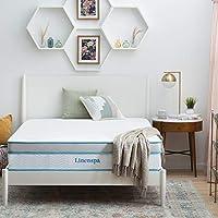 Linenspa 12 Inch Memory Hybrid Foam Cover Mattress (Queen)