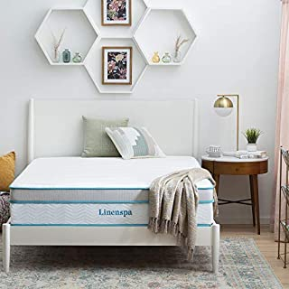 Linenspa 12 Inch Memory Hybrid Plush-Individually Encased Coils-Edge Support-Quilted Foam Cover Mattress, King, White (B089JMTNS2) | Amazon price tracker / tracking, Amazon price history charts, Amazon price watches, Amazon price drop alerts