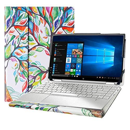 Alapmk Diseñado La Funda para 13.3' HP Spectre X360 13-awXXXX & ASUS ZenBook 13 UX333FA UX334FLC Laptop[No Compatible con:ZenBook 13 UX331 UX332 UX360/Spectre X360 13-aeXXXX 13-acXXX],Love Tree