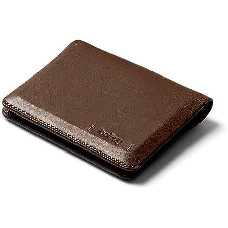 Bellroy Slim Sleeve Edición Premium - Darkwood (Cartera Plegable de Piel refinada)