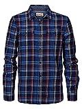 Petrol Industries - Camisa de leñador para hombre, color rojo., Spice Red, XL