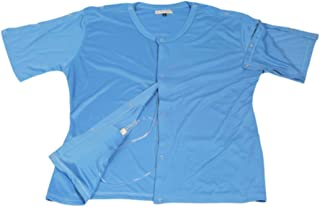 2 pcs Set of Post Mastectomy Easy Open Surgery Recovery Shirt