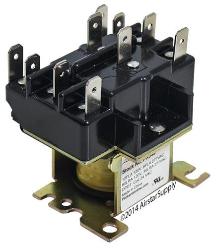 White Rodgers 90-340 • 90-340 Replacement Heavy Duty Switching Fan Relay DPDT 24 VAC Coil