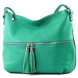 modamoda de – Ital Umhänge- / cuir sac à bandoulière T159