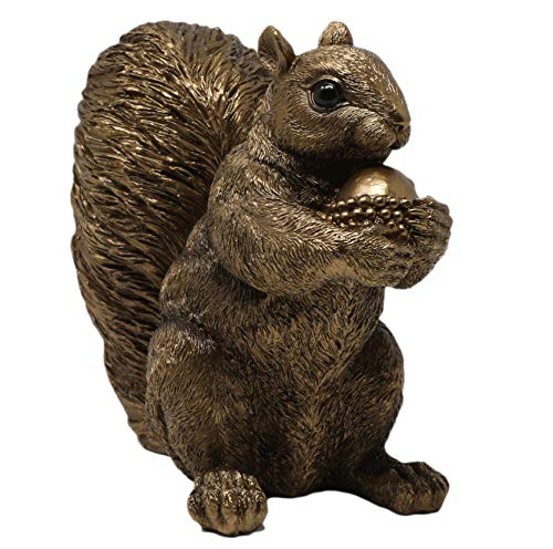 Thorne Antiques & Collectables Realistic Squirrel Ornament (Bronze)