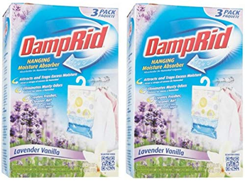 Why Choose DampRid FG83K Hanging Moisture Absorber Lavender & Vanilla- 3 PK, 2 Boxes