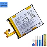 xperia z2 replacement parts - New Replacement Battery LIS1543ERPC Compatible with Sony Xperia Z2 Xperia Z2 D6503 Xperia Z2 D6508/D6543 Xperia L50 with Tools