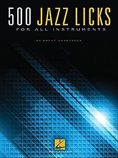 500 Jazz Licks: For All Instruments