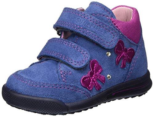 Superfit Baby Mädchen Avrile Mini Lauflernschuhe, Blau (Water Kombi), 21 EU