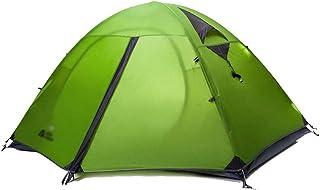 Camping Tent طبقة مزدوجة الألومنيوم القطب خيمة تنفس خيمة ماء نزهة التخييم خيمة خاصة Dome Tent