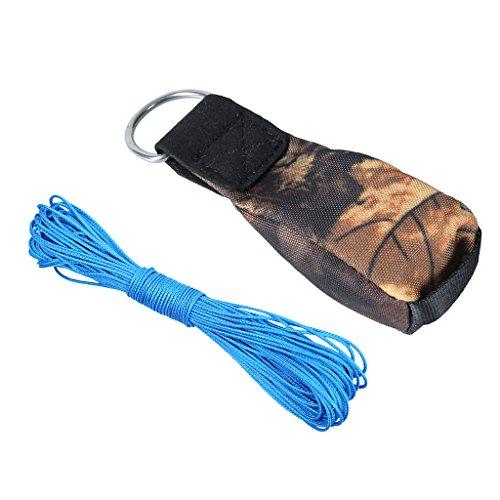 Sharplace Outdoor Wurfbeutel zum Baumklettern + 2mm Wurfleine Klettern Baumpflege Wurfschnur
