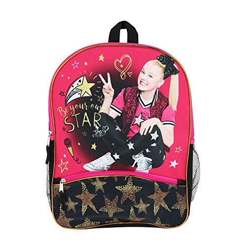 Jojo Siwa 16' Backpack with 1 lower front pocket- JOCR
