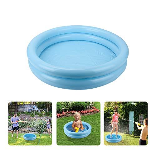 PANGF Piscina infantil hinchable para jardín de verano, portátil, resistente al desgaste, para niños en interiores y exteriores (1 unidad)