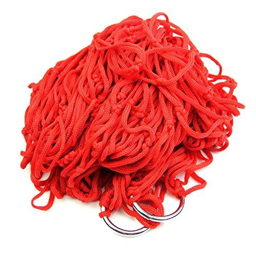 Yaonow Portable Corde en nylon Hamac à suspendre en maille Net Lit de couchage pour la randonnée one size R