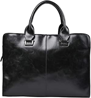 KEHUITONG Multi-function Handbag - Original Retro Fashion Handbag, Leather Shoulder Messenger Bag, Men's Business Computer Bag, Briefcase Casual Bag Toothbrush, comfortable electric toothbrush, easy