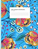 Order Book for Small Business: Sales Support Log Book for Small Businesses, Online businesses, Customer Order Pads Tracker, Purchase Order Log in Account, Customer Book   Floral Mate Finish Cover