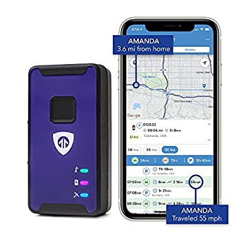 Brickhouse Security Spark Nano 7 LTE Micro GPS Tracker for Covert Monitoring of Teen Drivers Kids Elderly Employees Assets Subscription Required!