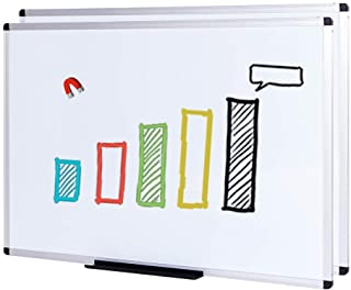 VIZ-PRO Magnetic Whiteboard/Dry Erase Board, 48 X 36 Inches, 2 Pack