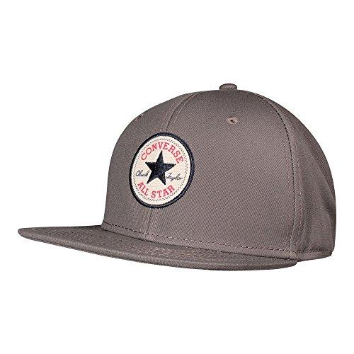 Converse Erwachsene Core Snapback Cap, Charcoal Grau, One Size