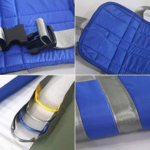 51EKHxjn7bL - HPDOM Eslinga Elevadora para Pacientes Eslinga De Malla Grande Eslinga Dieléctrica Cinturón De Transferencia Eléctrica con Soporte para La Cabeza Discapacidad Médica Cómoda
