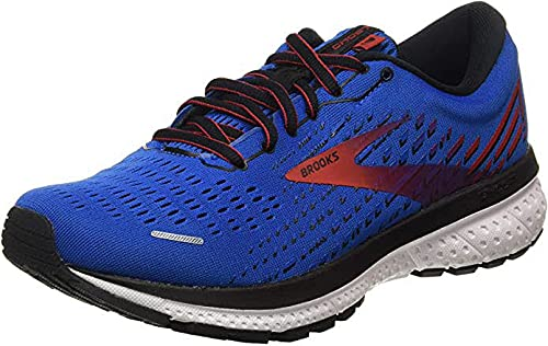 Brooks Ghost 13 Blue/Red/White 10.5 D (M)