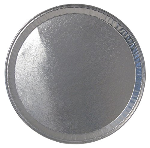 Durable Packaging-16FT-25 Disposable Aluminum Round Flat Serving Tray 16 Pack of 251-pack