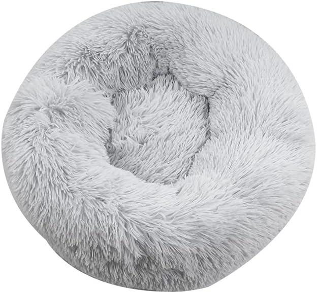 Vxkbiixxcs-o Pet Dog Philadelphia Mall Cat Bed Cushion House Sofa It is very popular Mat Plush Round