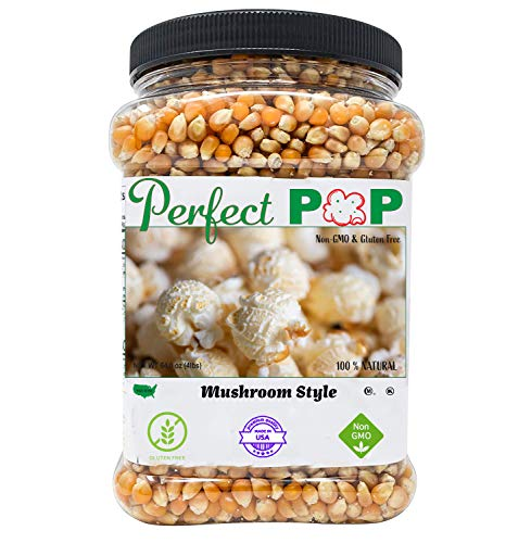 Concession Essentials Premium Gourmet Mushroom Extra Large Popcorn Kernels - 4lbs
