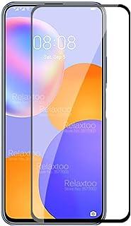 واقي شاشة لهاتف هواوي واي 9 ايه من اريدينغ، حواف متقوسة 2.5 دي درجة صلابة 9 عالية الدقة مضادة للخدش تغطية كاملة من الزجاج ...