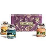 Yankee Candle Set de regalo | 3 velas perfumadas en tarro pequeño | Colección Last Paradise | Ideal para el día de la madre
