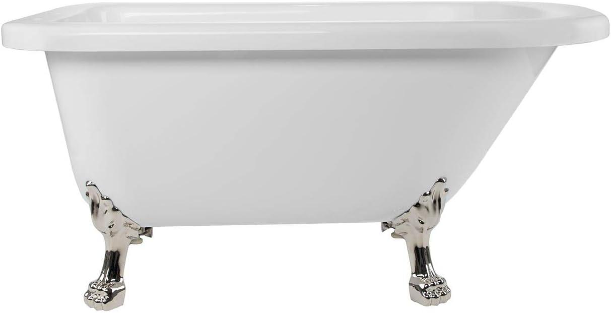 Challenge the lowest price of Japan ☆ Vintage Tub Bath Stratford 54 Acrylic Classic Inch Clawfoot Tu Long Beach Mall