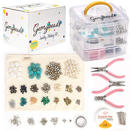 Jewelry Making Supplies Includes Clear...