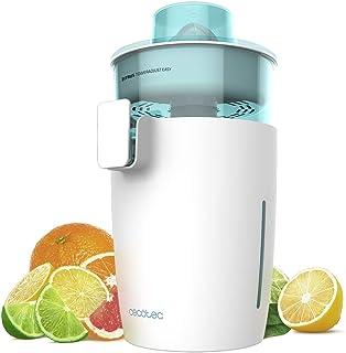 Cecotec Presse-agrumes Électrique Zitrus TowerAdjust Easy White. Puissance de 350 W, Tambour Libre de BPA, Capacité de 0,5 L