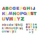 Starke magnetische Buchstaben und Zahlen für Kinder, ungiftiges Lern-Alphabet für Klassenzimmer, 68 Teile – PAWHITS -