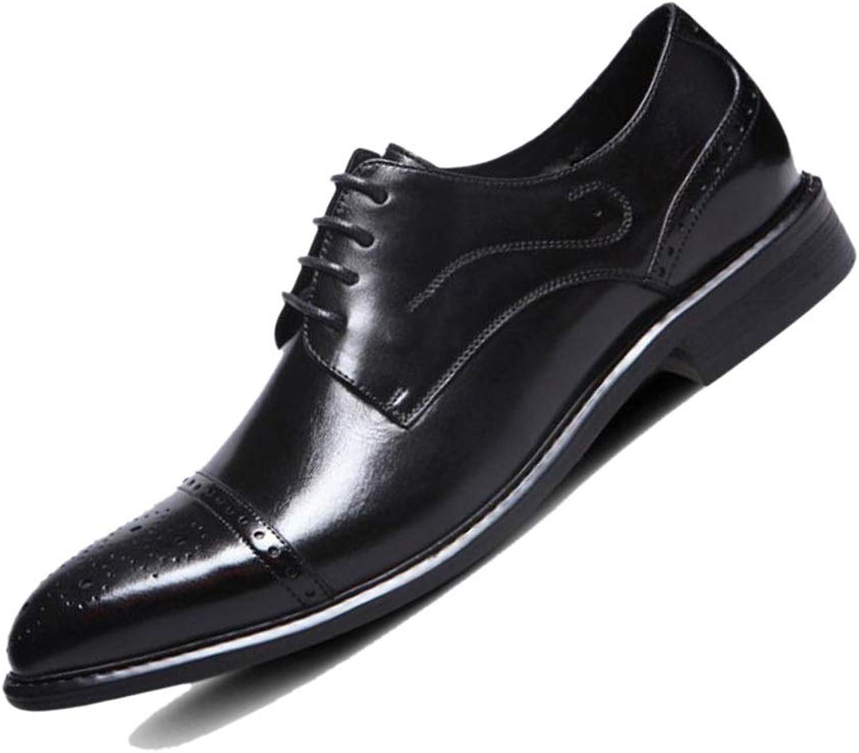 Vin Röd Röd Röd gul svart Derby Business Mans Leather skor Carved in England Wedding skor Gentlemän Partys Handgjorda  handla online idag