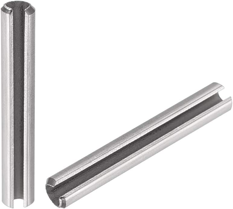 High quality uxcell Slotted Spring Pin - M2.5 Steel x Stainless Direct sale of manufacturer Spli 20mm 304