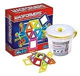 Magformers Regenbogenset 30-teilig Konstruktionsmaterial (Magformers Set 30 im Eimer) -