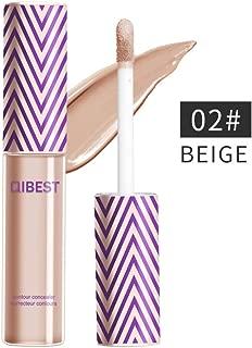 Professional Makeup Contour Concealer, COOSA Multi-Use Full Wear Concealer Eyeshadow Base Full Coverage-02#BEIGE