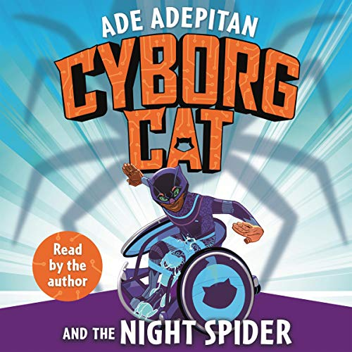 Cyborg Cat and the Night Spider cover art