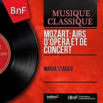 Mozart: Airs d'opéra et de concert (Mono Version)